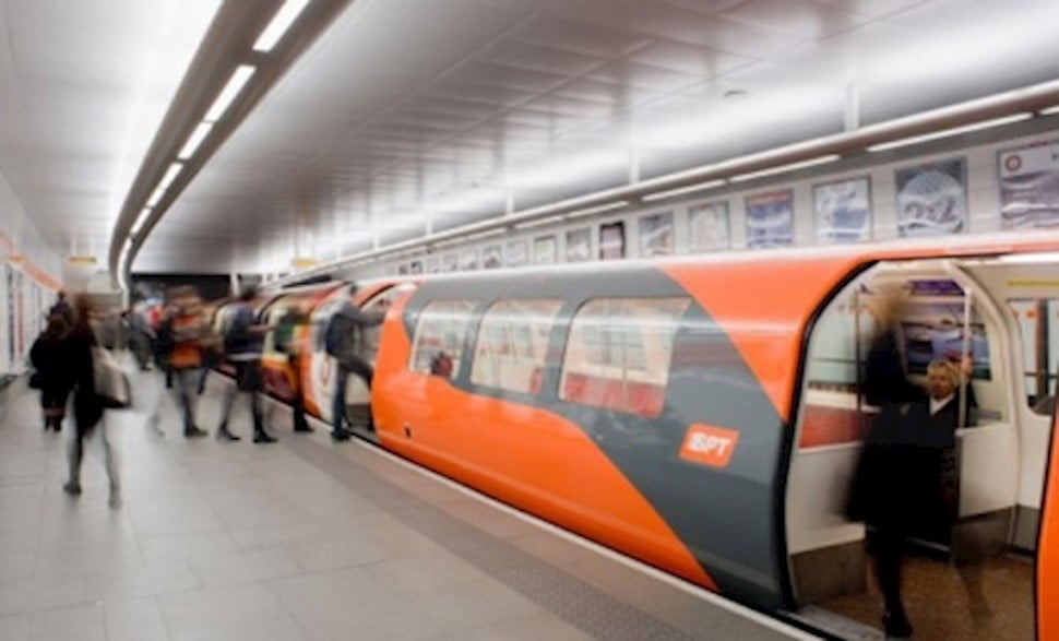 image of the Glasgow Subway system